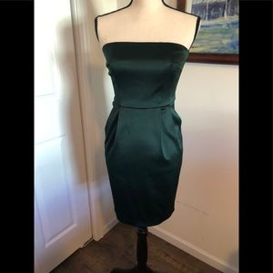 EXPRESS strapless cocktail dress